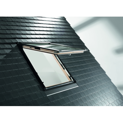 Roto мансардное окно Designo WDF R8 K WD (ПВХ)