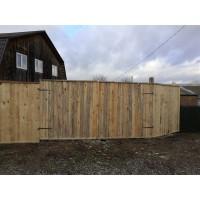 Строительный забор (щит заборный) НЕ окрашенный